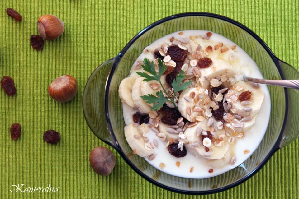 jogurt z musli