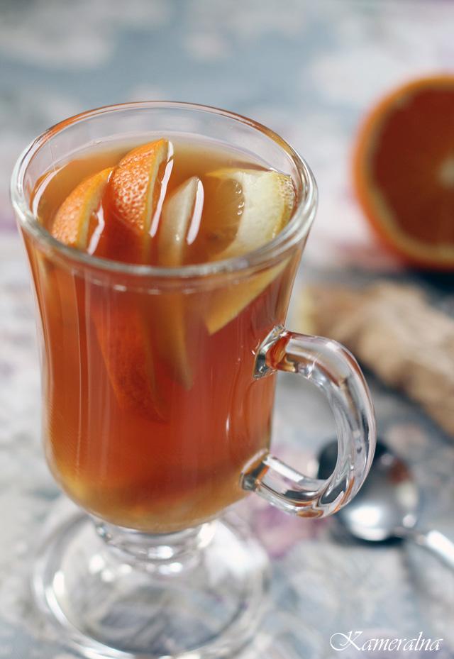 herbata z imbierem
