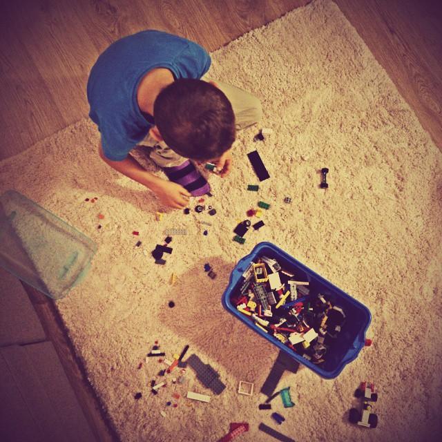 Budujemy :-) #światdziecka #lego #evening #somuchfun #zabawa