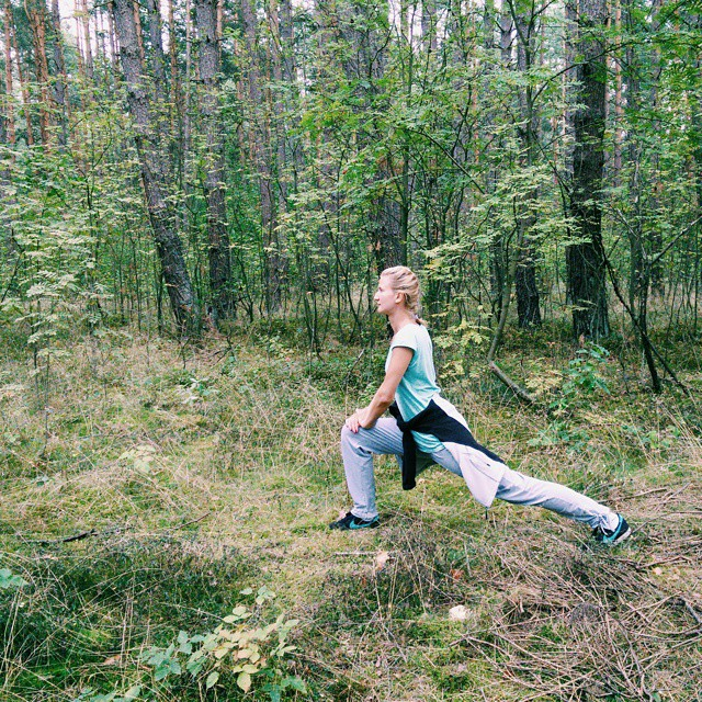 Nie uwierzycie! Biegałam. #dumna #proudofmyself #healthylife #nawsi #  #vscocam
