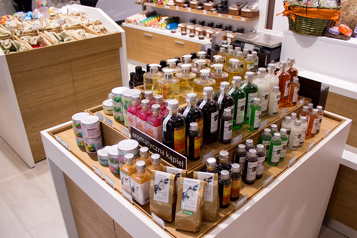 otwarcie sklepu organique w Olsztynie