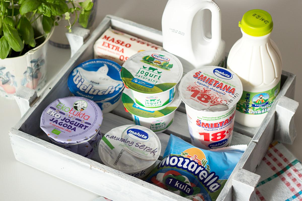 produkty mleczne z dobrym składem