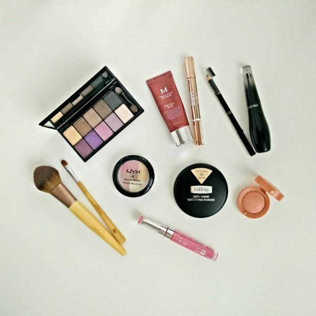 Time for make-up! :-) #makijaż #makeup #nyx #Lancome #isadora #bedepiekna #kosmetyki