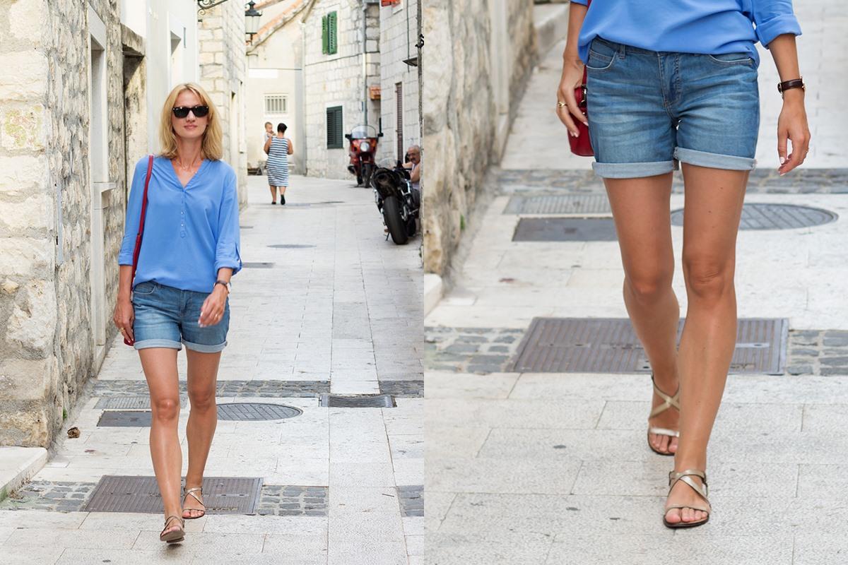 stylizacja-jeansowe-szorty