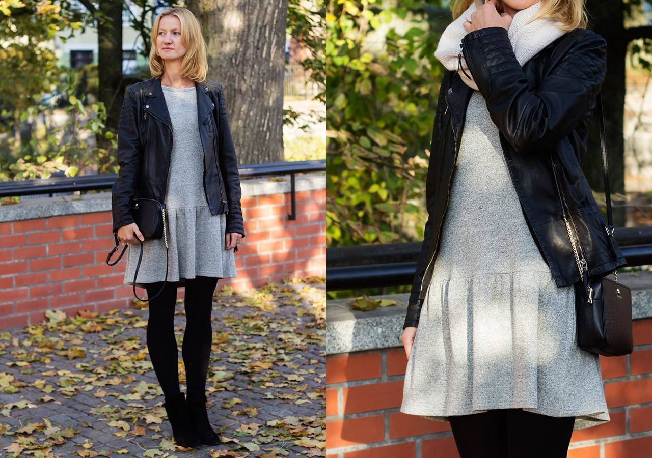stylizacja-szara-sukienka