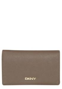 Skórzany portfel DKNY
