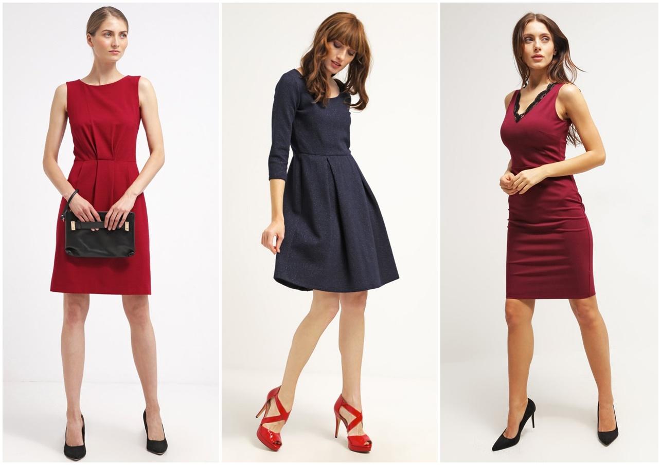 bf443a8319 jak ubrać się na wieczór Czerwona sukienka ...