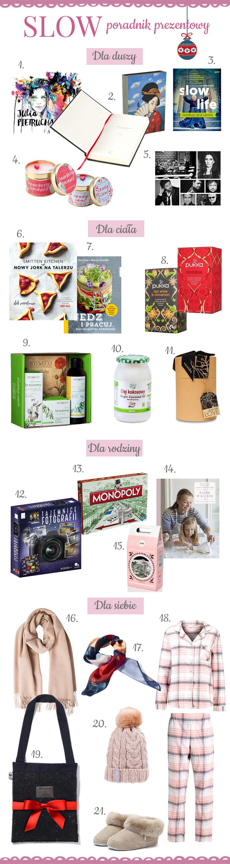 propozycje świątecznych prezentów