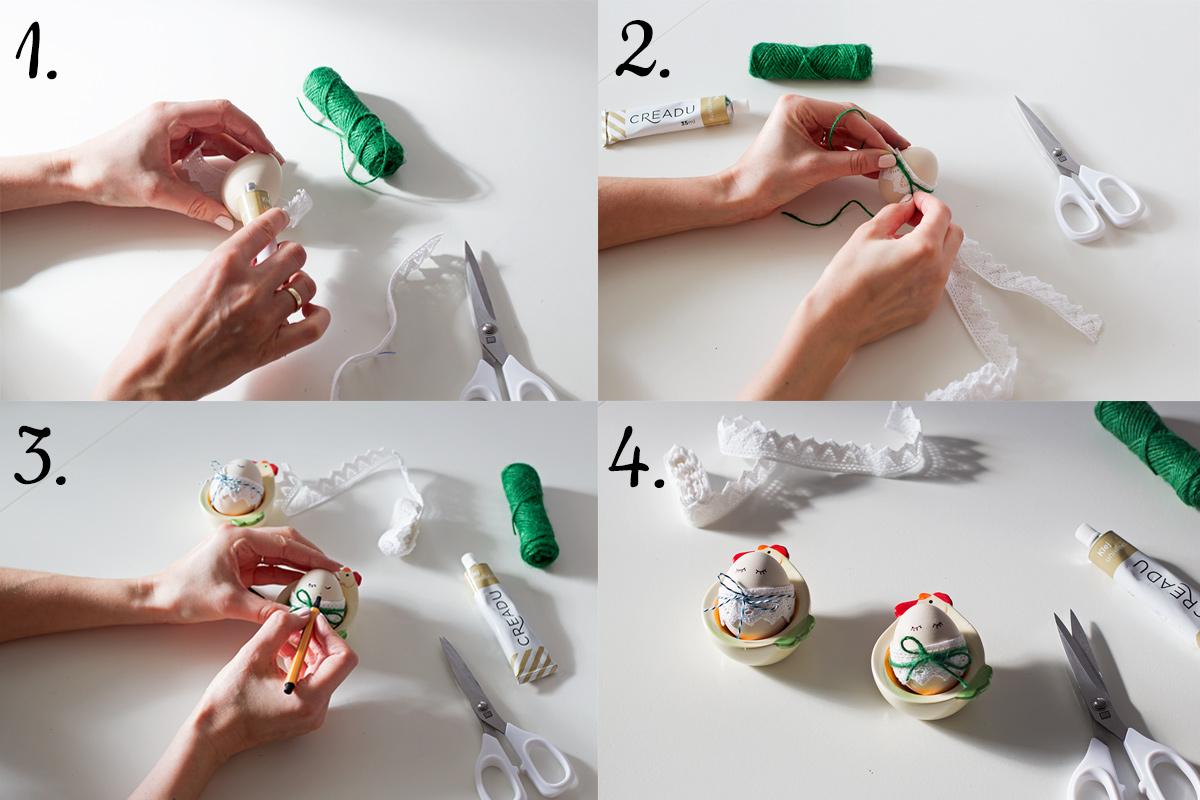 jak pomalować jajka