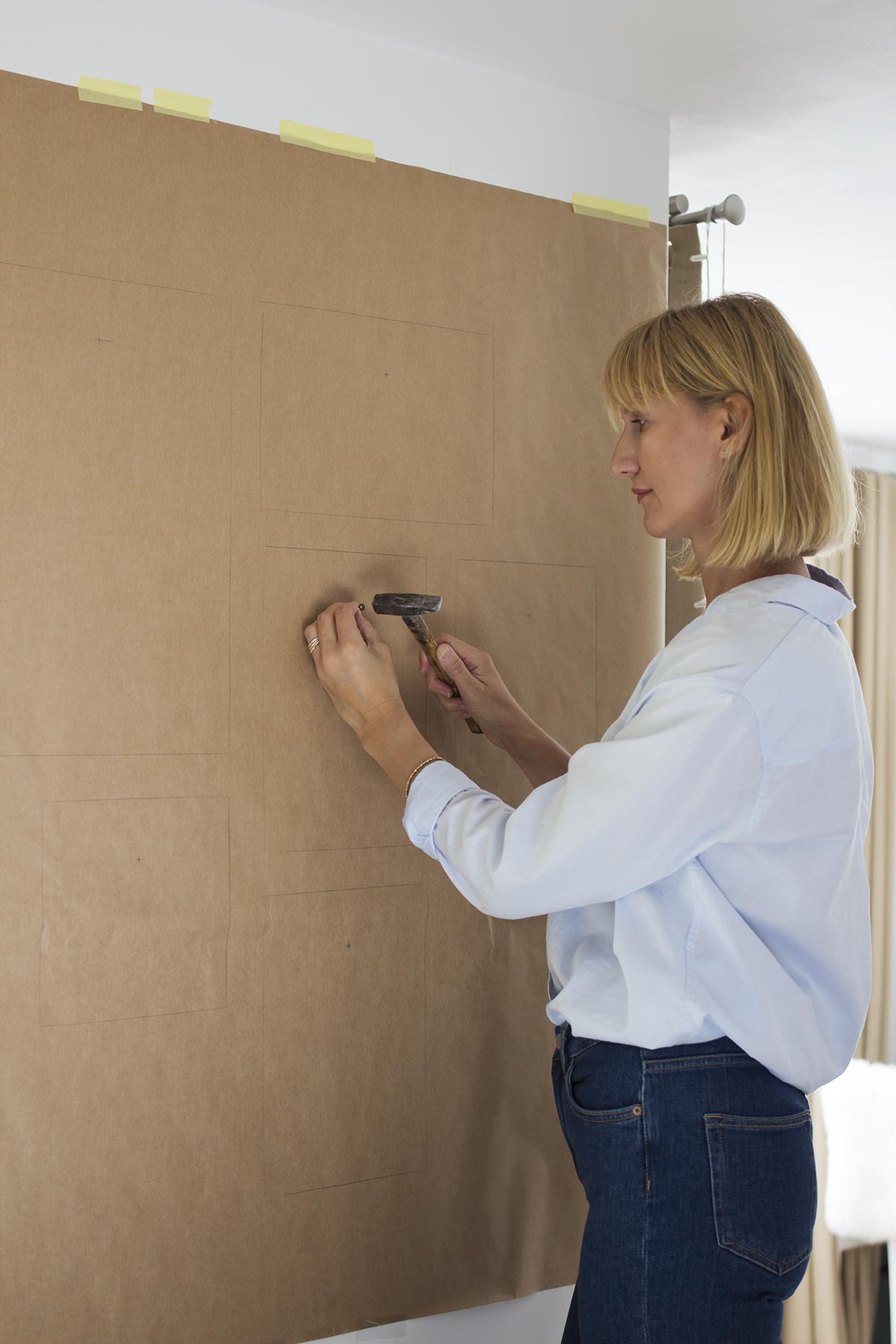 jak stworzyć galerię ścienną krok po kroku