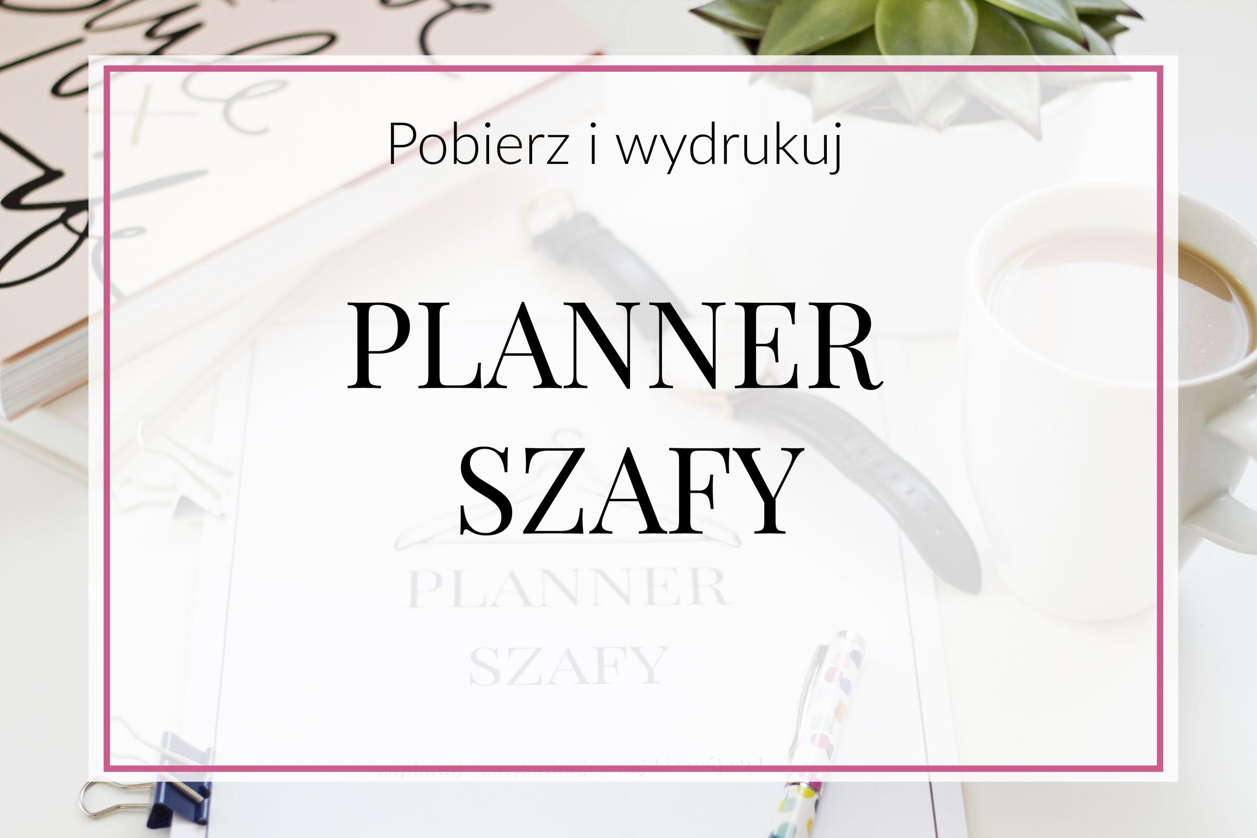 planner szafy