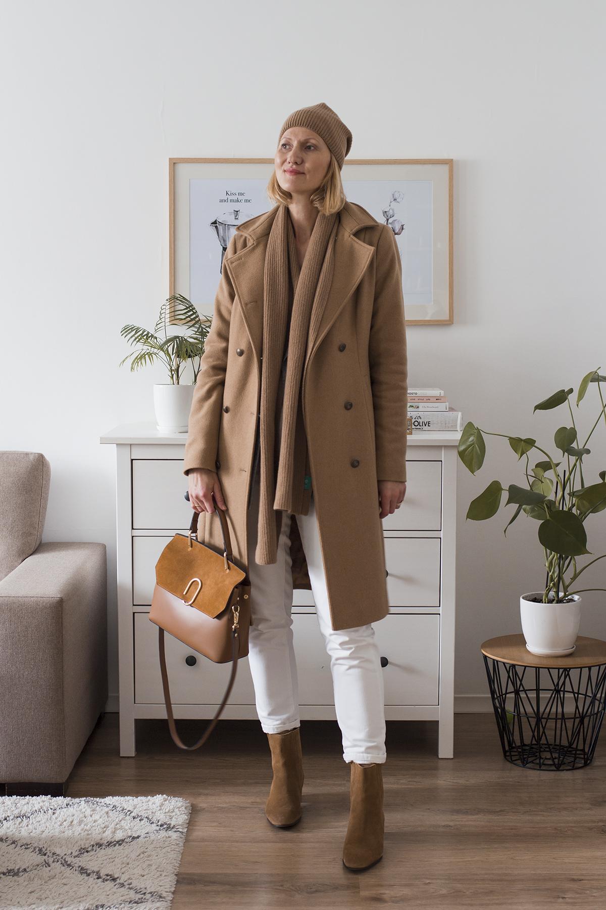 jesienno-zimowy płaszcz
